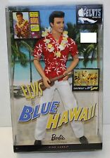 Elvis in Blue Hawaii Barbie Collector Doll Pink Label - New
