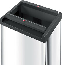 Big-Box® Swing 40 Litre Free Standing Snap-Top Waste Bin 2 Stainless Steel