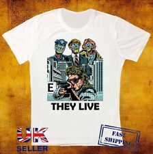 THEY LIVE Thriller Cult Satirical SCI FI HORROR Roddy Piper UNISEX T SHIRT 524