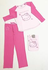 "Pigiama cotone interlock Hello Kitty bambina ragazza rosa ""Sanrio"" by Gabel"