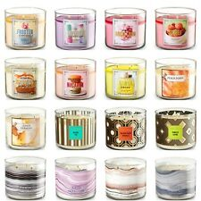 Bath & body works large 3 wick scented candles NEWEST SCENTS