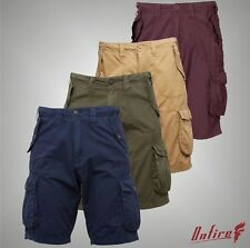 New Mens Branded Onfire Casual Cotton Cargo Shorts Pants Bottoms Size S-XXXL