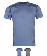 MODA Nike Pro Heather Short Sleeve Shirt Mens Grey