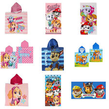 Paw Patrol Ponchos and Towels (Assorted)
