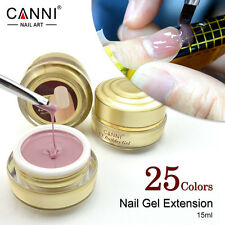 High Quality CANNI Builder Gel 15ml  Camouflage Jelly Gel Nail Extending UV Gel