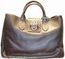 MAXIMA BORSA IN PELLE DONNA COL. MARRONE ART.D3327