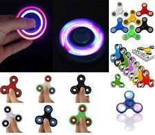 LED Light Flash Fidget Hand Finger Spinner Ultimate Spin Toys UK SELLER EDC Bear