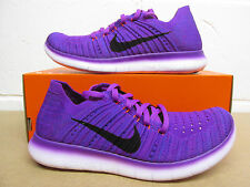 nike womens free RN flyknit running trainers 831070 501 sneakers shoes