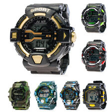 BOLF Herren Armbanduhr Uhr Analog Digital Wasserdicht Camo Watch Mix 1M5  Sport