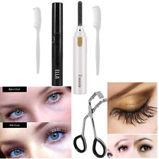 Long Lasting Heated Eyelash Curler Eye Lashes Curling Long Eyelash Makeup WD