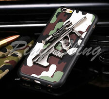 IPHONE 6 6S MOBILE CASE REPLICA RIFLE GUN ARMY CAMOUFLAGE PHONE COVER 70%OFF!