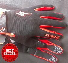 NEW 2017 Specialized Body Geometry Gel Long Finger Cycling Gloves With Gel Paddi