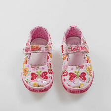 Lelli Kelly Kids Papillon Dolly Shoes LK4066 (BC02) + Free Gift.