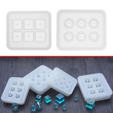 Silicone DIY Pendant Mold Making Jewelry Pendant Resin Casting Mould Craft Tools