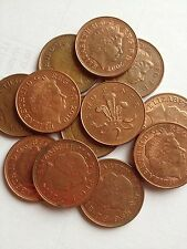2p 2 Pence Two Pence Coin Queen Elizabeth II  From 1971-2016