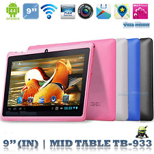 """9"""" inch Google Android4.4 Quad Core 8GB Pad Dual Camera Wifi Tablet PC US Pink"""