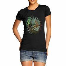 Twisted Envy Dragon Rider Women's Funny T-Shirt