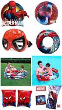 Ultimate Marvel Ultimate Spiderman Inflatable Swimming Accessories for Kids
