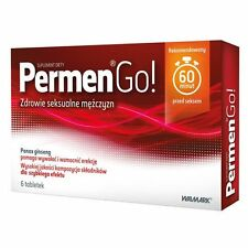 PERMEN GO! tabl. 6 / 12 / 18 / 24 / 30 tabl. Libido enhancer for men erekcja
