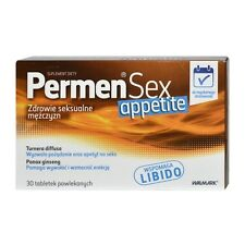 PERMEN SEX  APPETITE 30 / 60 / 90 / 120  tabl. Erectile support, libido support