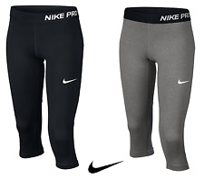 NIKE JUNIOR GIRLS CAPRI LEGGINGS 3/4 SHORTS JOGGING BOTTOMS RUNNING PANTS GYM