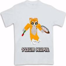 Personalised Printed Stampycat longhead Kids T Shirt Sublimated ages 3 to 13
