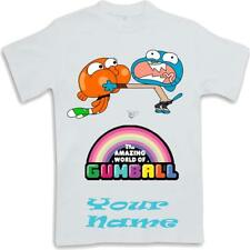 Custom Amazing World of Gumball Inspired Kids T Shirt Sublimated ages 3 to 13
