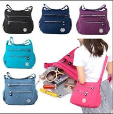 Women Tote Messenger Cross Body Handbag Ladies Hobo Bag Shoulder Bag Waterproof