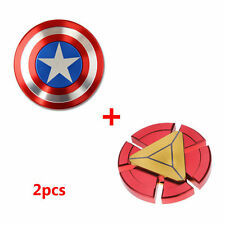 Captain America Spinner Iron Man Spinners Fidget Hand Shield METAL High Quality