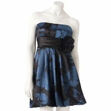 Stylish Formal Dress Juniors Floral Bubble Tube Speechless NEW $78 3 5 7 9 11