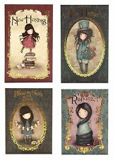 SALE Santoro Gorjuss Chronicles Jotters 2 SIZES Hatter Heights Rapunzel Family