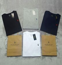 Polo Ralph Lauren Mens Custom Fit Short Sleeve Crew Neck T-shirt T S M L XL