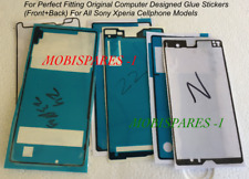 LCD Display Glue Stickers (Front+Back) For Sony Xperia Mobile Phones