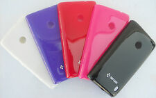 SGP Nokia Lumia 520 Soft Back  pouch Jelly Case hard Shell  back Cover Glossy