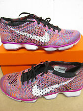 Nike Femmes Flyknit Zoom Agility BASKET COURSE 698616 502 Baskets Chaussures