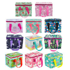 Lunch Bag Insulated Thermal Cool Bags School Lunchbox Food Box Picnic Children's