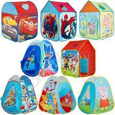 CHARACTER PLAY TENTS PAW PATROL THOMAS DISNEY CARS PEPPA PIG INDOOR OUTDOOR NEW