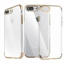 TARKAN Ultra Slim Flexible Transparent Soft Back Cover For Apple iPhone 7 Plus