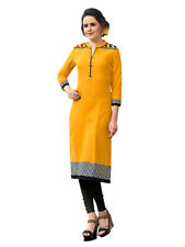 Sinina  Designer South Cotton Printed Work Kurti- Fusion16