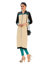 Sinina  Designer South Cotton Printed Work Kurti- Fusion12