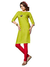 Sinina Designer Cotton Reyon With Embroidery Work Kurti-FN1005
