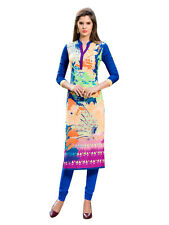 Sinina Designer Cotton Reyon With Embroidery Work Kurti-Siber4