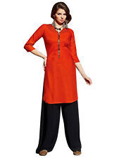 Sinina Designer Cotton Reyon With Embroidery Work Kurti-FN1011