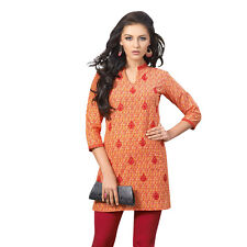 Sinina  Designer Cotton Embroidery Work Kurti-Alice02