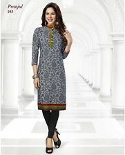 Sinina  Designer Cotton Printed Work Kurti-SGK103