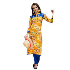 Sinina  Designer Cotton Printed Work Kurti-OG501