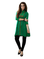 Sinina Designer Cotton Reyon With Embroidery Work Kurti