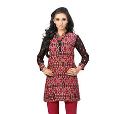 Sinina  Designer Cotton Embroidery Work Kurti-Alice04