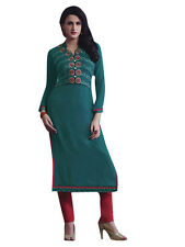 Sinina  Designer Georgette Kurti With Embroidery Work