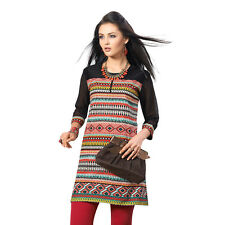 Sinina  Designer Cotton Embroidery Work Kurti-Alice07